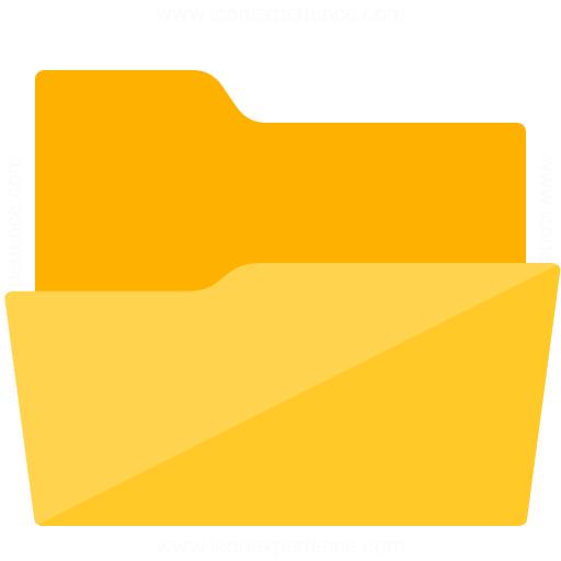 Iconexperience G Collection Folder Open Icon