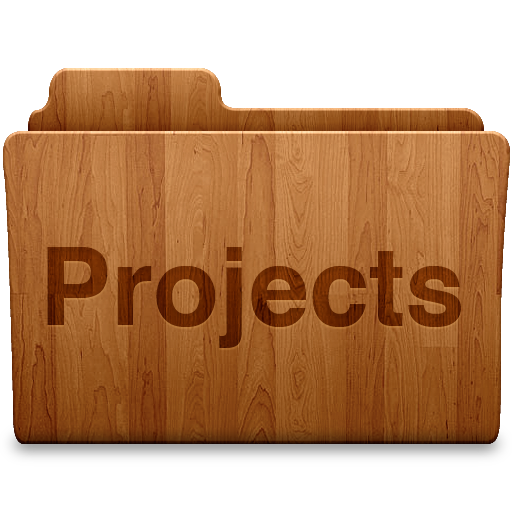 Projects Folder Icon Download Free Icons
