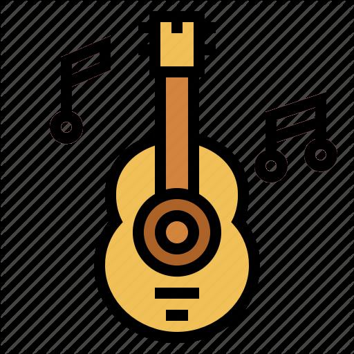 Folk, Guitar, Music, Orchestra Icon