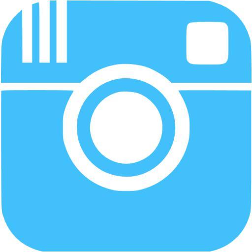Instagram Icon Blue Images