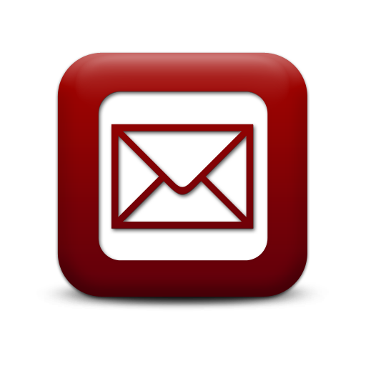 Email Envelope Icon Red Images