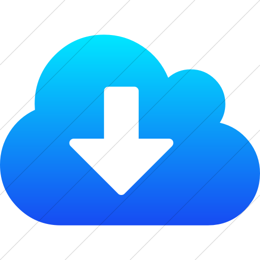 Simple Ios Blue Gradient Bootstrap Font Awesome Cloud