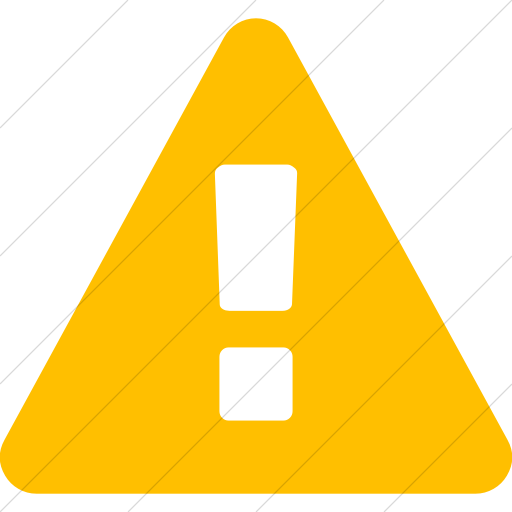 Simple Yellow Bootstrap Font Awesome Warning Icon