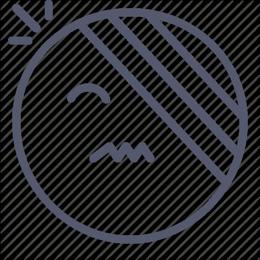 Emoji, Emotion, Face, Injuried, Smile Icon