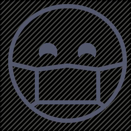 Emoji, Emotion, Face, Smile, Surgeon Icon