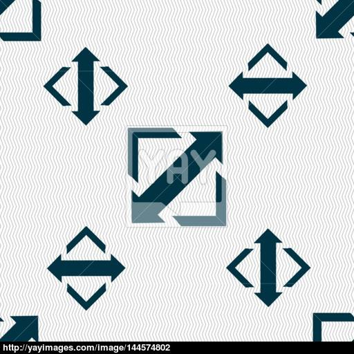 Deploying Video, Screen Size Icon Sign Seamless Pattern