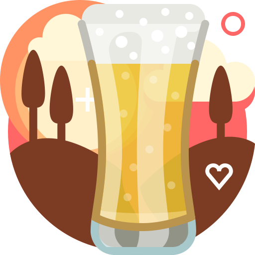 Alcohol, Cocktail, Food And Restaurant, Alcoholic Drink, Beverage Icon