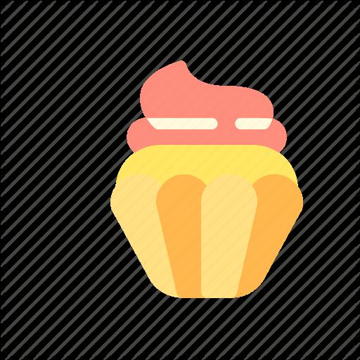 Beverage, Cake, Cookies, Cupcake, Drink, Food Icon
