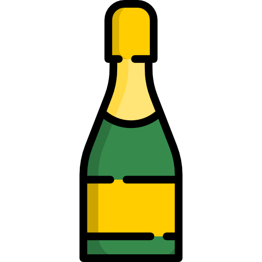 Champagne Icon Food And Drink Freepik