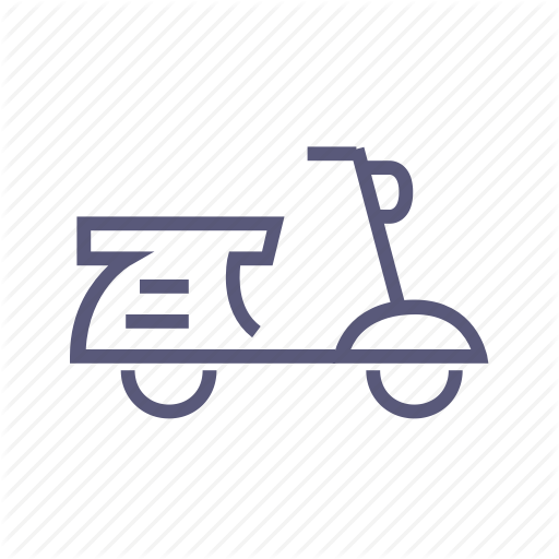 Courier, Food Delivery, Moped, Motorbike, Scooter, Shipping