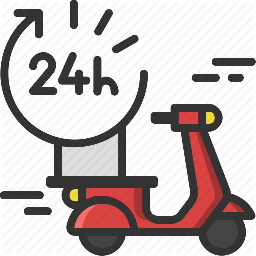 Delivery, Food, Food Delivery, Scooter, Shipping, Takeaway