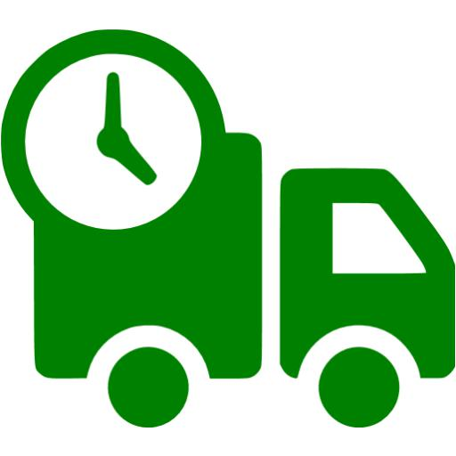 Green Delivery Food Icon