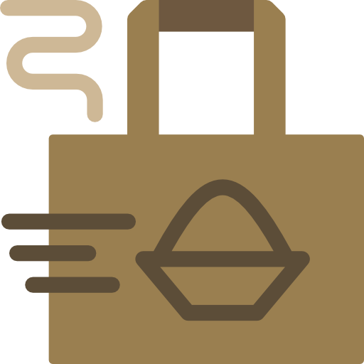Restaurant, Food, Delivery Icon