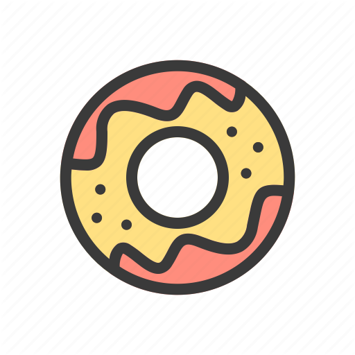 Beverage, Cake, Cookies, Donuts, Drink, Food Icon