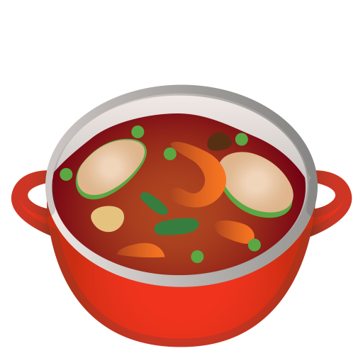 Pot Of Food Icon Noto Emoji Food Drink Iconset Google