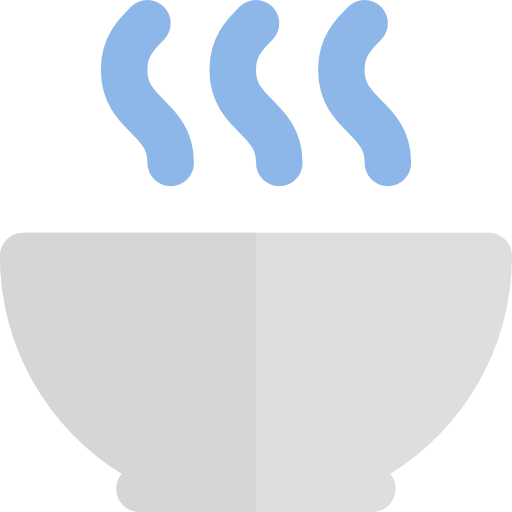 Soup, Healthy Food, Hot Drink, Food And Restaurant, Bowls, Food Icon