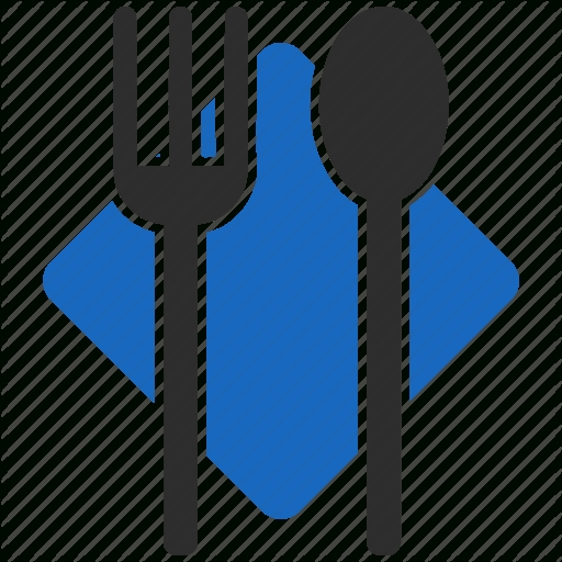 Cafe, Dinner, Food, Menu, Place, Restaurant, Service Icon Intended