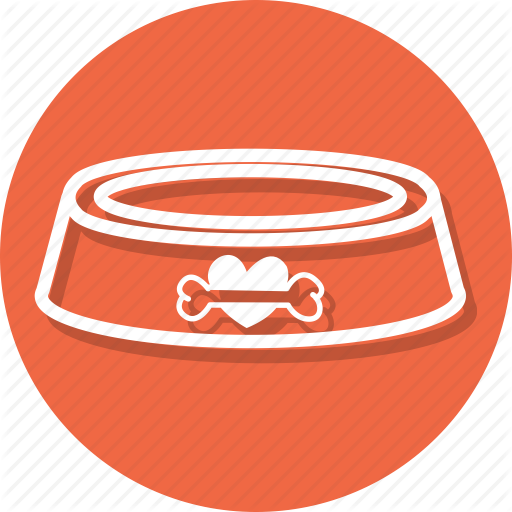 Animal, Cup, Dish, Dog, Food, Pet, Plate Icon