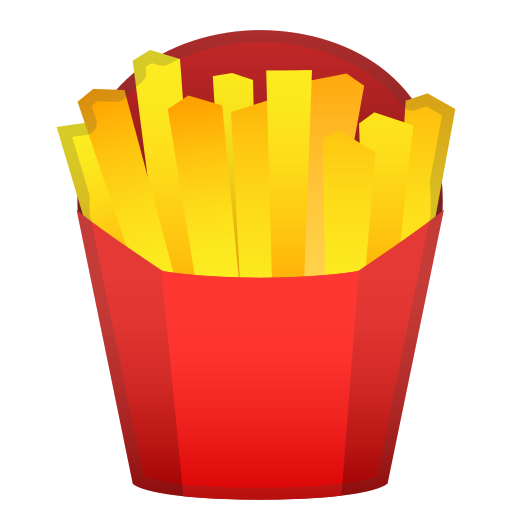 French, Fries, Food Icon Free Of Noto Emoji Food Drink Icons