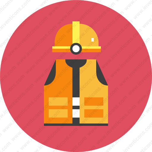 Download Safety Equipment,life Jacket,helmet Icon Inventicons