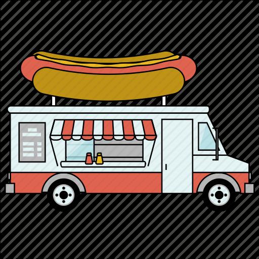 Car, Food, Food Truck, Gastronomy, Hot Dog, Restaurant, Small