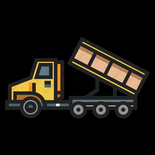 Download Dump,truck Icon Inventicons