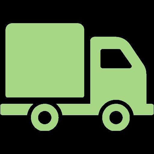 Guacamole Green Truck Icon