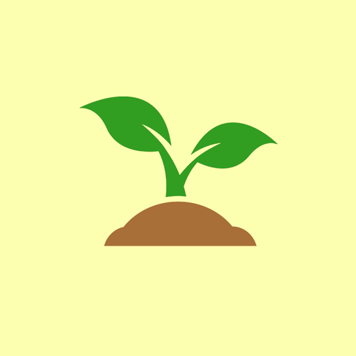 Recycled Soil Sprout Icon