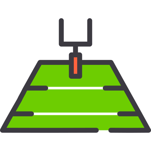 American Football Field Png Icon