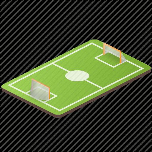 Ball, Field, Football, Game, Soccer, Sport, Stadium, Training Icon