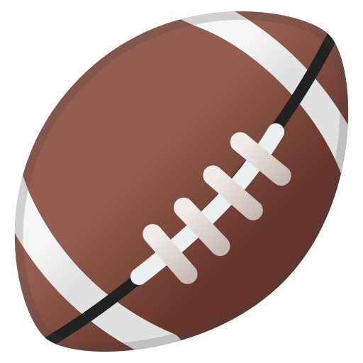 American Football Icon Noto Emoji Activities Iconset Google