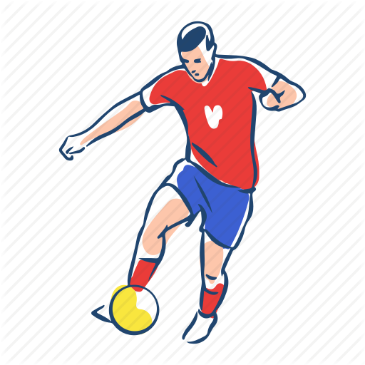 Athlete, Ball, Football, Player, Serbia, Soccer, Sport Icon