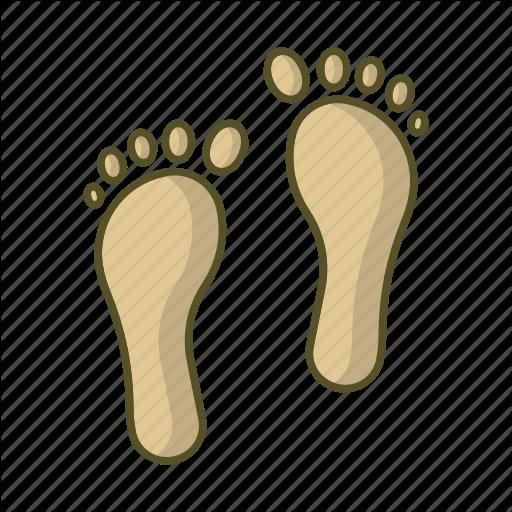 Beach, Foot, Footprint, Footprints, Step, Track Icon