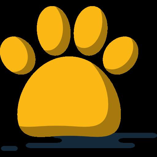 Print, Animals, Footprint, Dog, Cat, Pawprint Icon