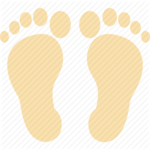 Foot, Footprints, Footst Human Footst Pedicure Icon