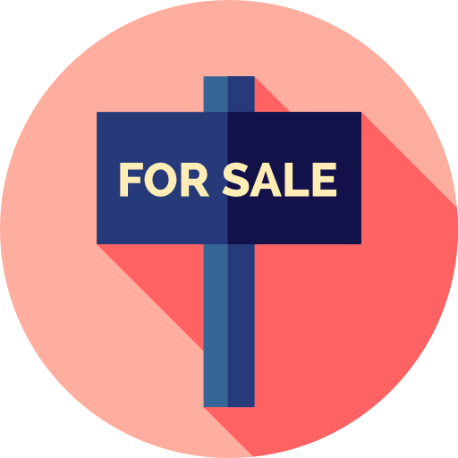 Property, Signs, Real Estate, For Sale Icon