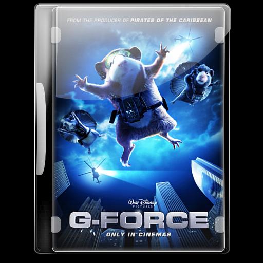 G Force Icon English Movie Iconset Danzakuduro
