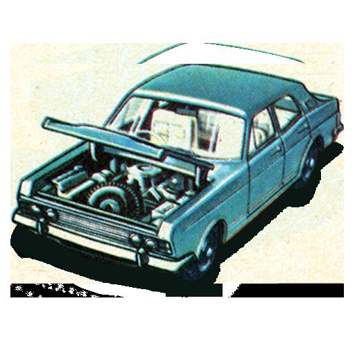 Ford Zodiac Mkiv Icon