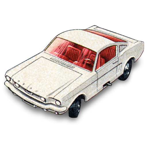 Mustang, Fastback, Car, Ford Icon
