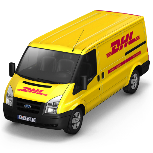 Dhl, Front Icon Free Of Container Cargo Vans Icons
