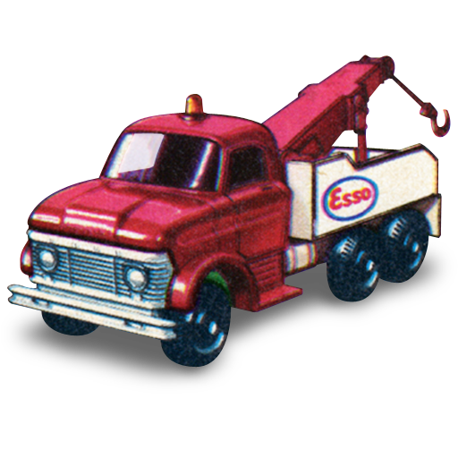 Ford, Heavy, Wreck, Truck Icon Free Of Matchbox Cars Icons