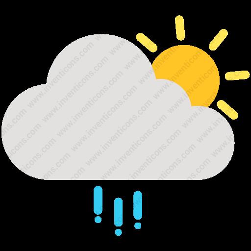 Download Cloud,day,forecast,rain,shine,sun,weather Icon Inventicons