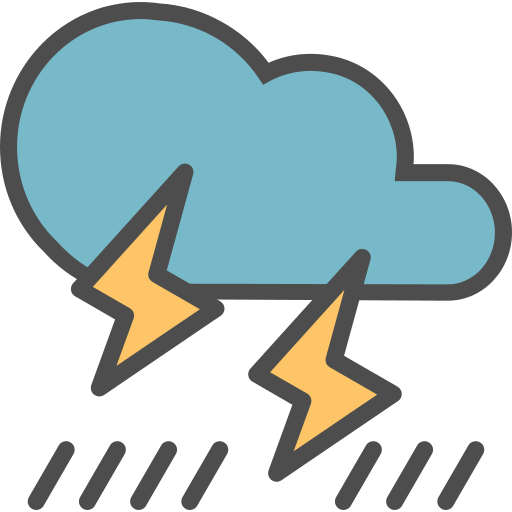 Storm Forecast Png Icon