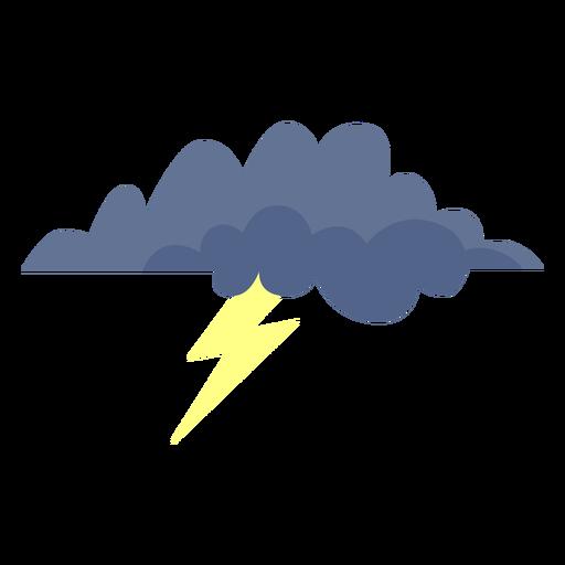 Storm Cloud Forecast Icon