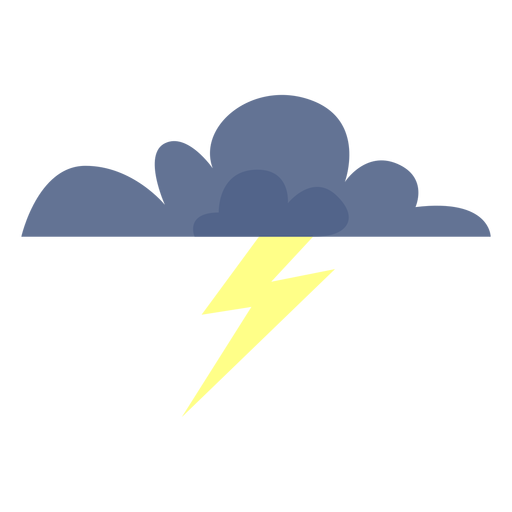 Stormy Forecast Cloud Icon