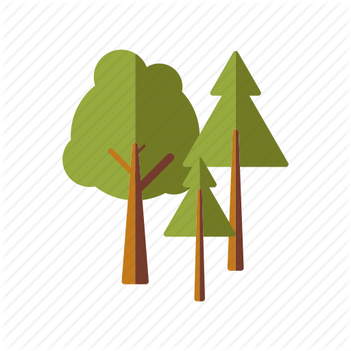 Camping, Equipment, Forest, Outdoors, Trees, Woods Icon