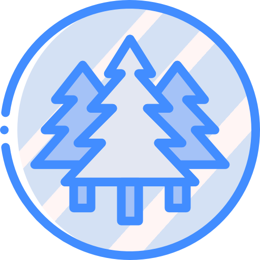 Forest Icon Geography Smashicons