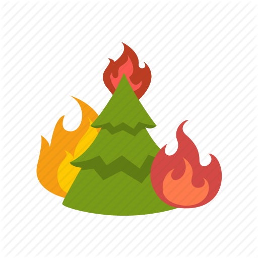 Burning, Disaster, Fire, Forest, Hot, Hotspots, Wildfire Icon