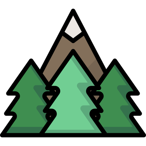 Forest Mountain Png Icon
