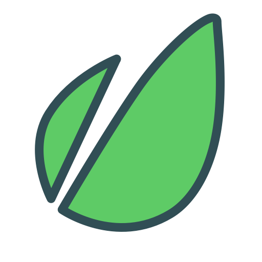 Leaf, Nature, Forest, Brand, Plant Icon Free Of Brands Colored